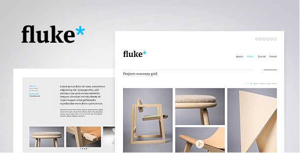 fluke wordpress theme