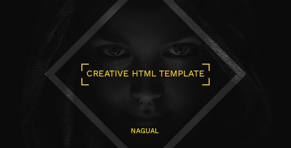 Nagual HTML Template